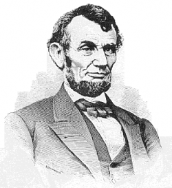 Civil War clipart president lincoln