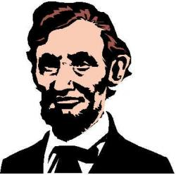 History clipart abe lincoln