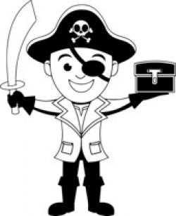 Pirate clipart shield