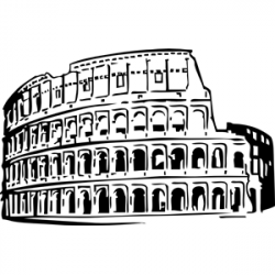 Italy Clipart Black And White