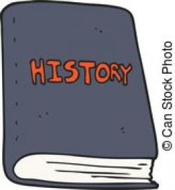 History clipart book cartoon