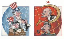 History clipart cold war