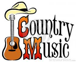 Music clipart country & western