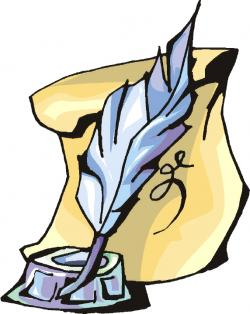 Quill clipart writing