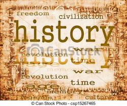History clipart graphic