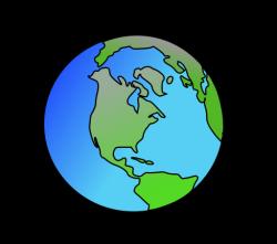 Planet Earth clipart cute