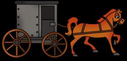 History clipart horse cart