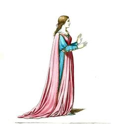 Maiden clipart medieval lady