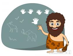 Caveman clipart food