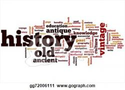 History clipart word