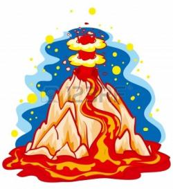 Lava clipart natural disaster