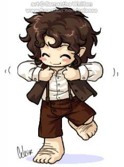 Bilbo Baggins clipart frodo baggins
