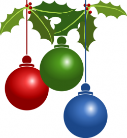 Christmas Lights clipart holly plant