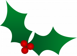Vector clipart holly