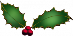 Holley clipart holly berry