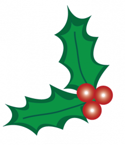 Christmas clipart holly berry