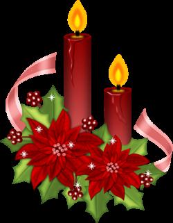 Poinsettia clipart christmas greeting