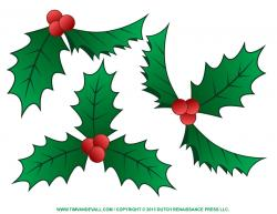 Decoration clipart holly