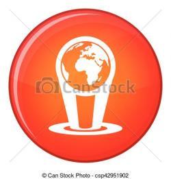 Hologram clipart globe
