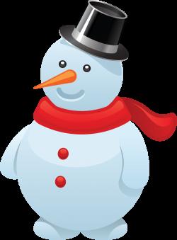 Snowman clipart december