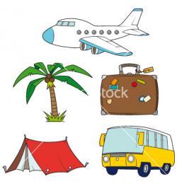 Travel clipart family holiday