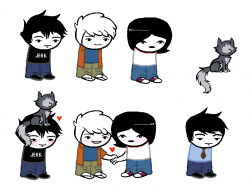 Homestuck clipart dan vs