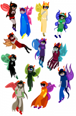 Homestuck clipart god tier