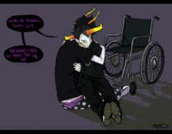 Homestuck clipart sad