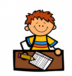 Homework clipart author