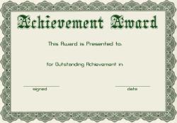 Templates  clipart student achievement