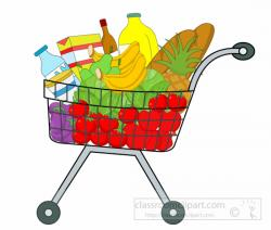 Vegetable clipart shopping basket