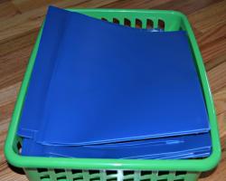 Homework clipart basket