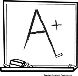 Homework clipart chalkboard