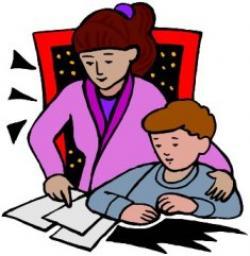 Homework clipart children's