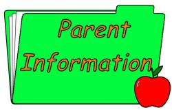 Notice clipart parent information