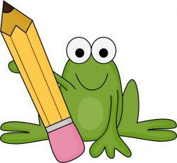 Homework clipart frog