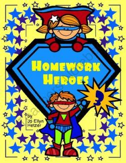 Homework clipart hero