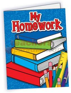 Homework clipart homework folder