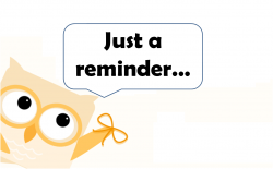 Date clipart meeting reminder