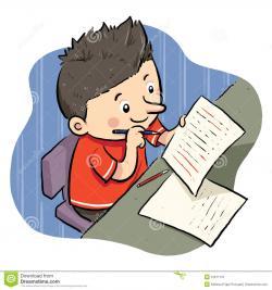 Homework clipart kid homework