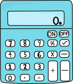 Mathematics clipart calculator