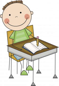 Resting clipart bad student
