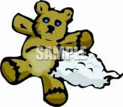 Stuffed Animal clipart ripped