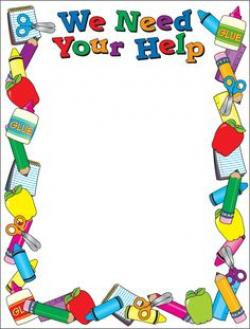 Color clipart stationery