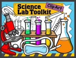 Laboratory clipart science room