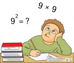 Number clipart math problem
