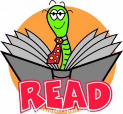 Worm clipart reading club