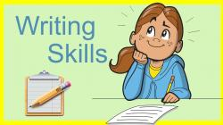 Homework clipart writing skill