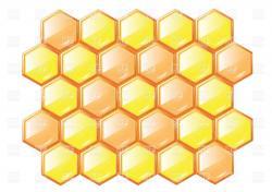 Honey clipart honeycomb
