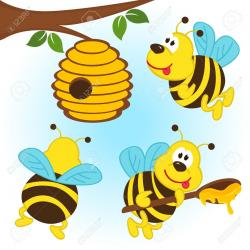 Wasp clipart hive